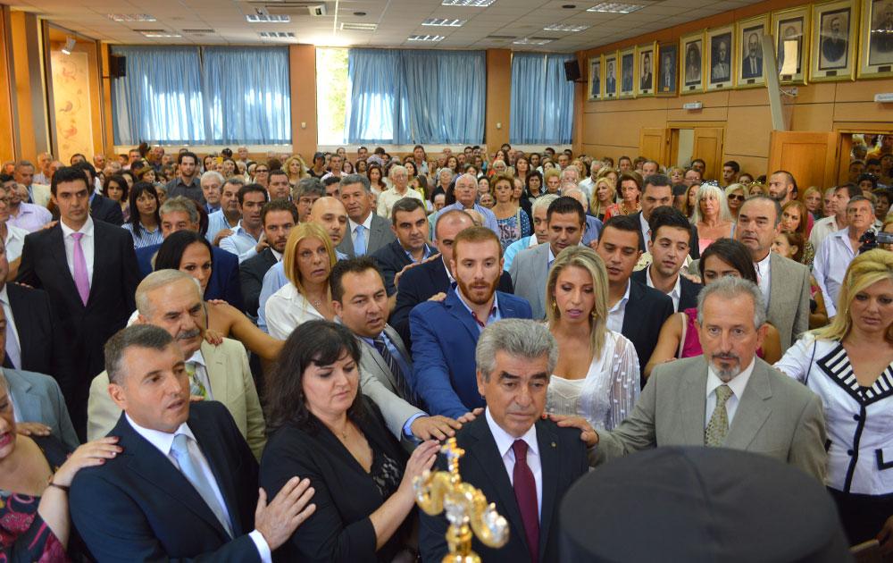 Τελετή ορκωμοσίας Νέων Συμβουλίων Δήμου Μεγαρέων