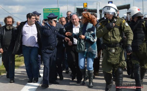 Κατηγορείται ακόμα για τη διαμαρτυρία στα διόδια ο Νίκος Σωτηρίου