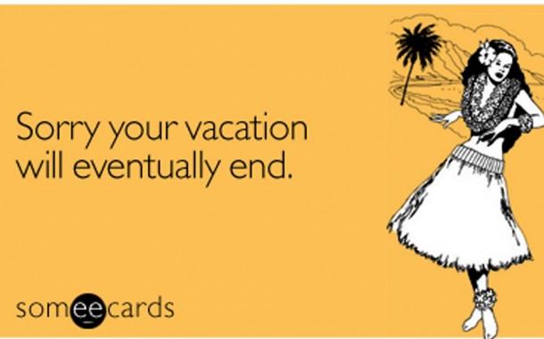 Αποχαιρετώντας τις διακοπές (μέρος β')