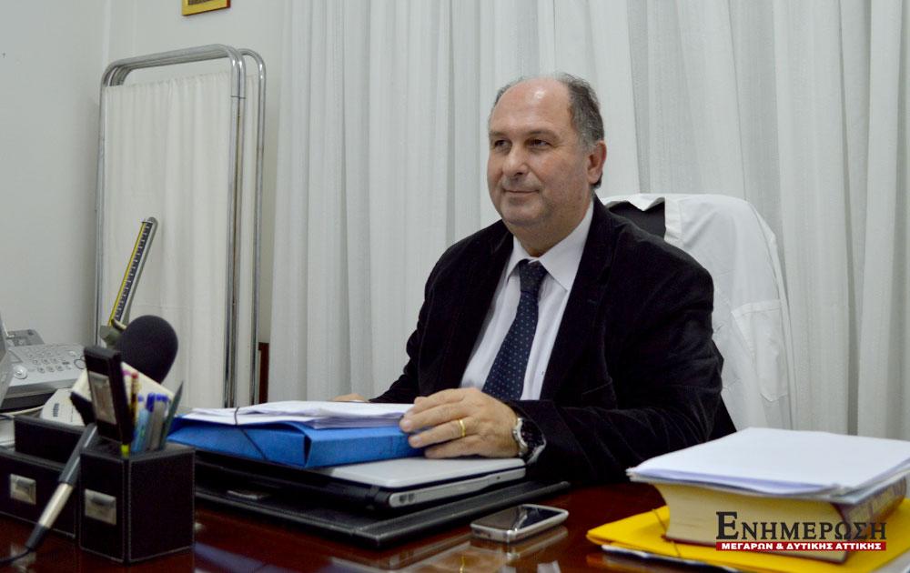 Γ. Μαρινάκης: Επιτακτική ανάγκη η απόσπαση γιατρών από το Θριάσιο στο Κέντρο Υγείας Μεγάρων