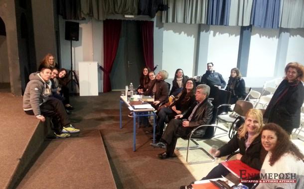 Δύο παραστάσεις ετοιμάζουν θεατρικές ομάδες του Δημοτικού Θεάτρου Μεγάρων