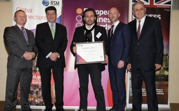 Evomat: Εθνικός Πρωταθλητής στα European Business Awards