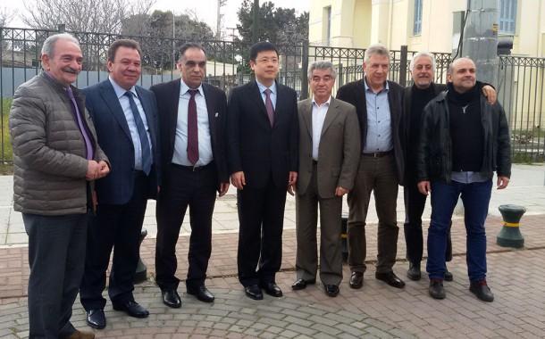Συνάντηση του Πρέσβη της Κίνας με Δημάρχους Μεγαρέων, Ελευσίνας, Ασπροπύργου και Περάματος