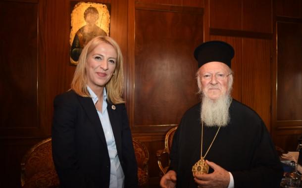 Συνάντηση Ρ. Δούρου-Οικουμενικού Πατριάρχη