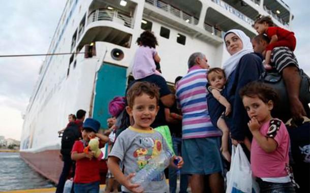 Ανθρωπιστική βοήθεια για τους πρόσφυγες στη Λέσβο