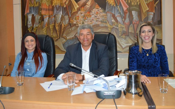Πρόεδρος του Δημοτικού Συμβουλίου η Βανέσσα Μαυροειδή