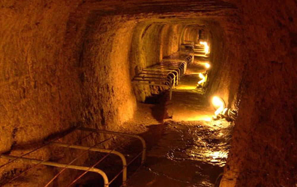 Διεθνές ιστορικό τοπόσημο μηχανικής το Ευπαλίνειο Όρυγμα