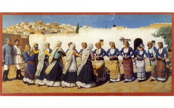 Ο χορός της Τράτας(με χιούμορ και νοήματα)