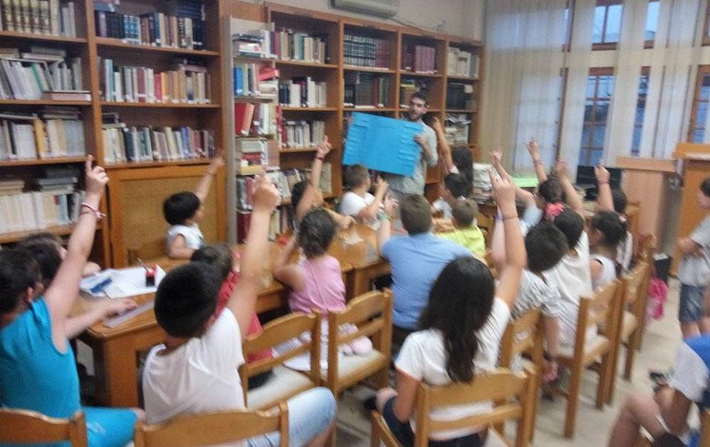 Μεγαλύτερη συμμετοχή παιδιών φέτος στην Καλοκαιρινή Εκστρατεία Ανάγνωσης της Δημοτικής Βιβλιοθήκης