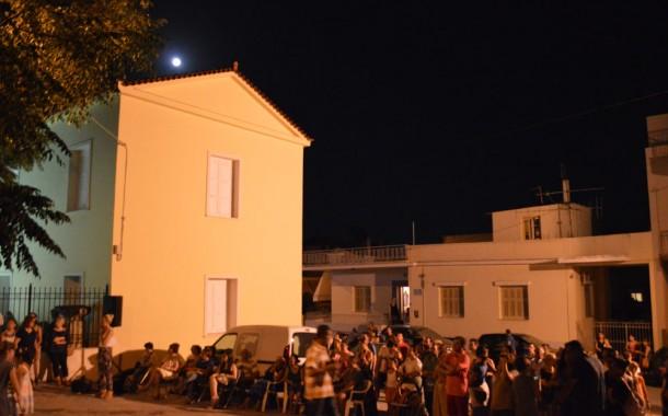 Μαγευτική βραδιά στο ιστορικό κέντρο των Μεγάρων
