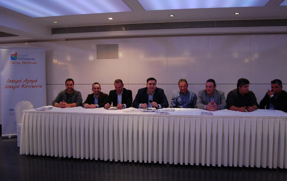 Ο Υποψήφιος Πρόεδρος Γιάννης Βουτσινάς παρουσίασε το ψηφοδέλτιο σε Μέγαρα & Ν. Πέραμο