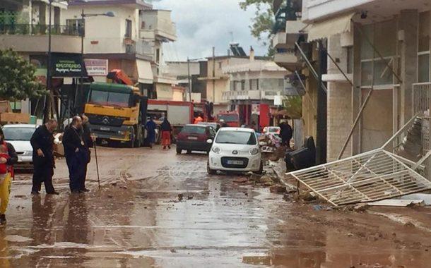 Στα 12,3 εκατ. ευρώ εκτιμώνται οι αποζημιώσεις για τις πλημμύρες