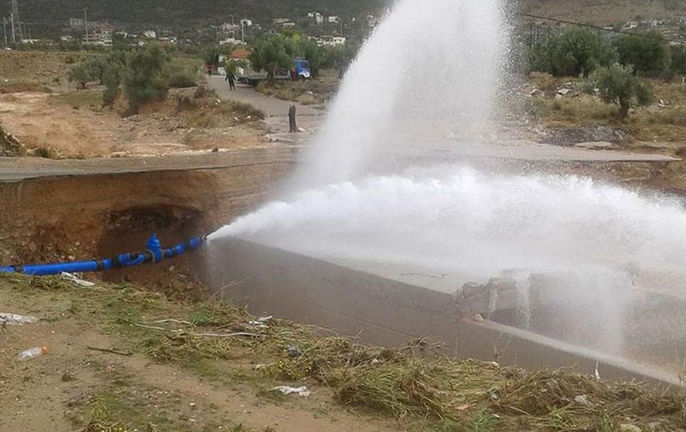 Καθαρό το νερό στην Νέα Πέραμο