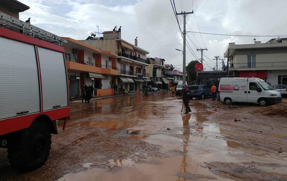 Ενημέρωση για στεγαστική συνδρομήτων πλημμυροπαθών στη Νέα Πέραμο