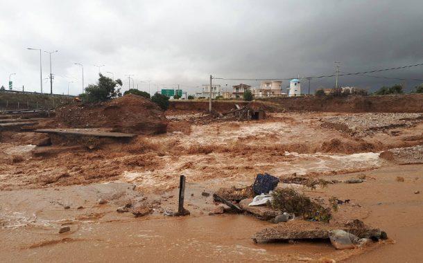 Υψηλός κίνδυνος πλημμύρας και τα επόμενα χρόνια για Νέα Πέραμο-Μέγαρα