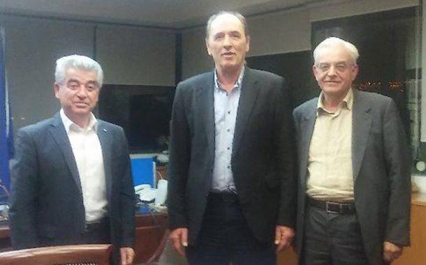 Κατά του βωξίτη: Συνάντηση με τον Υπουργό Περιβάλλοντος Γ. Σταθάκη