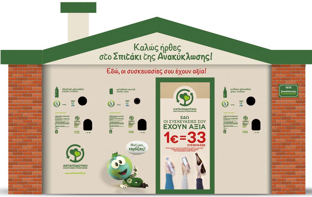 Εγκαίνια στο Κέντρο Ανταποδοτικής Ανακύκλωσης