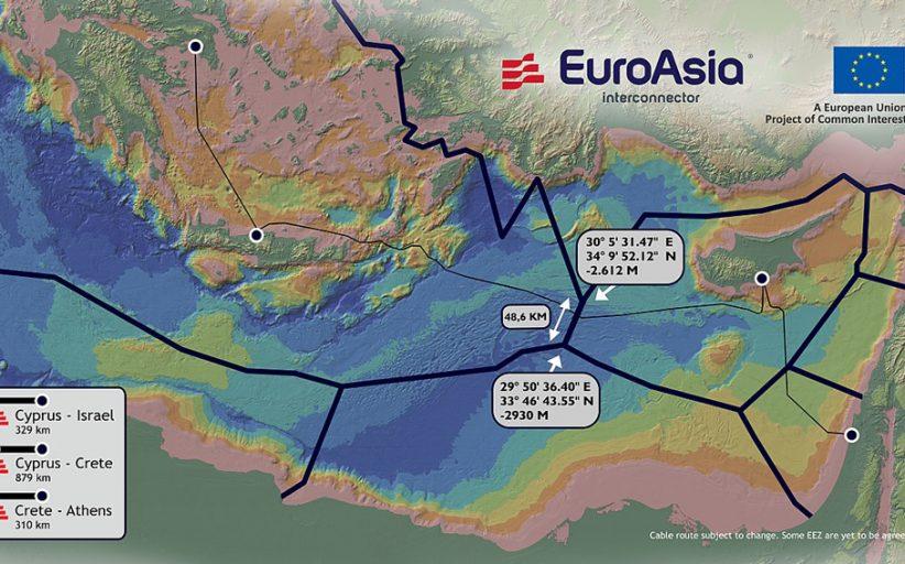 """Διαβούλευση για το καλώδιο ηλεκτρικής διασύνδεσης """"Euroasia"""""""