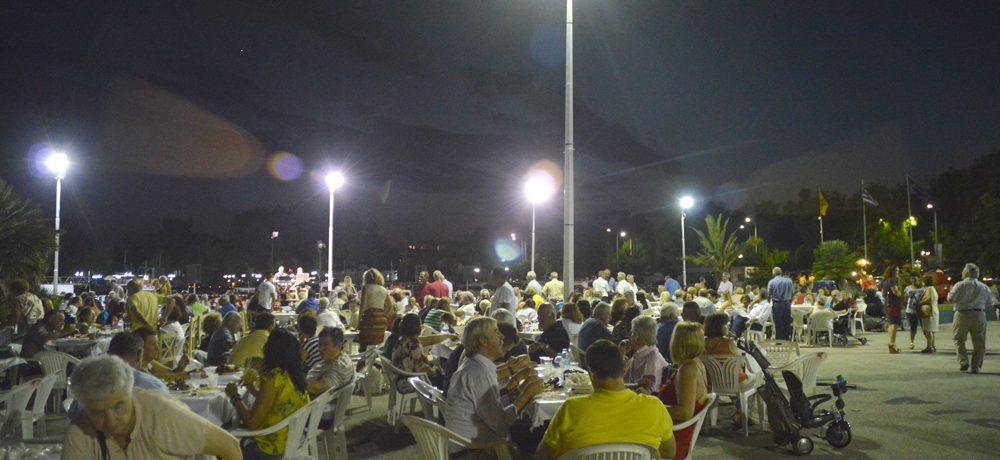 Βραδιά οστράκων στην Νέα Πέραμο
