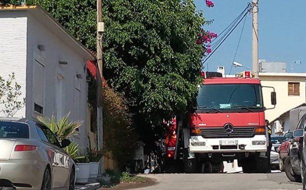 Πυρκαγιά σε οικία στο Μελί