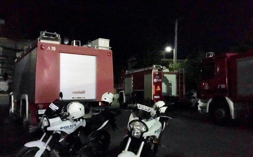 Επιθέσεις κατά Πυροσβεστών στο Βλυχό