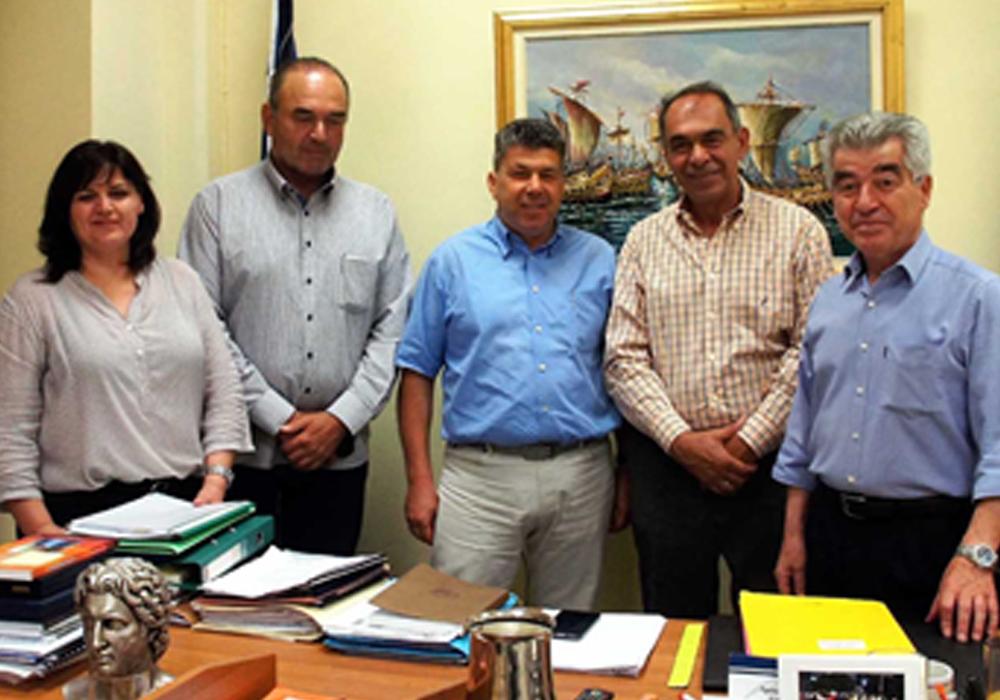 Συνάντηση Γρ. Σταμούλη με τον Δήμαρχος Νικαίας-Ρέντη Γ. Ιωακειμίδη