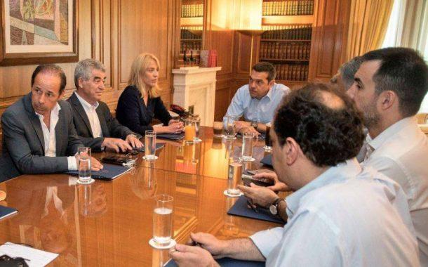 Σε έκτακτη σύσκεψη υπό τον Πρωθυπουργό ο Γρ. Σταμούλης