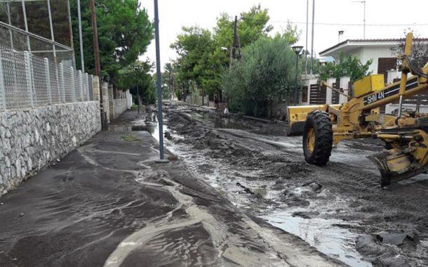 Μετά τις φωτιές βροχές στην Κινέτα