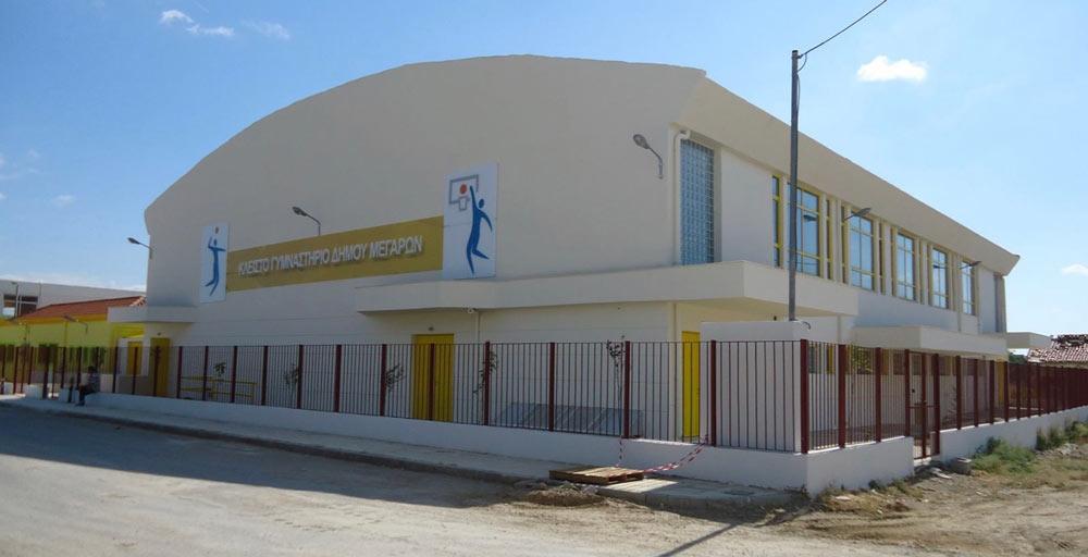 Νέο ξύλινο παρκέ στο Κλειστό Γυμναστήριο στο 8ο Δημοτικό Σχολείο Μεγάρων