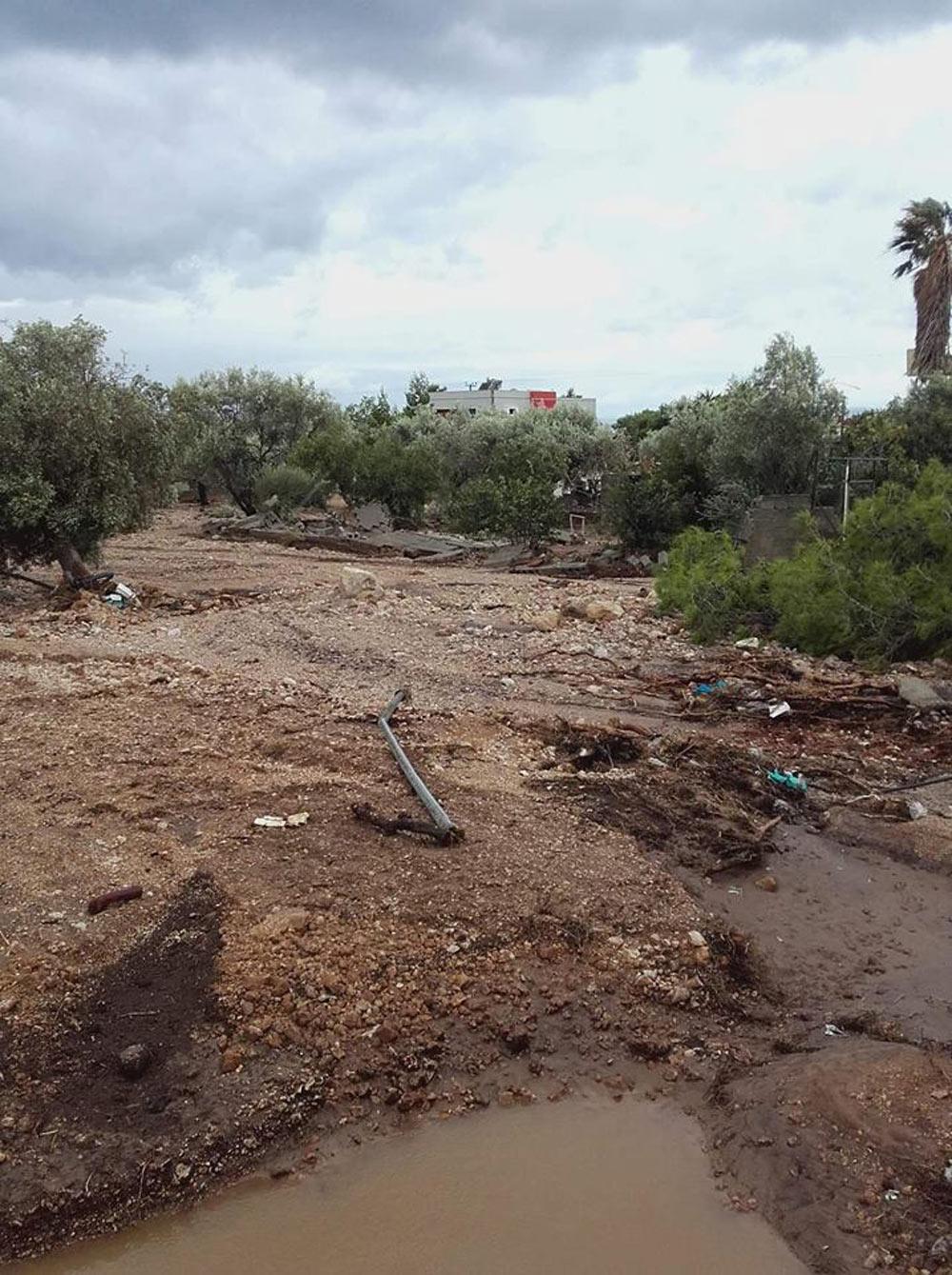 Δηλώσεις ζημιών από τις πλημμύρες για παραγωγούς