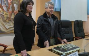 Κοπή πίτας για τους εργαζομένους του Δήμου Μεγαρέων (βίντεο)