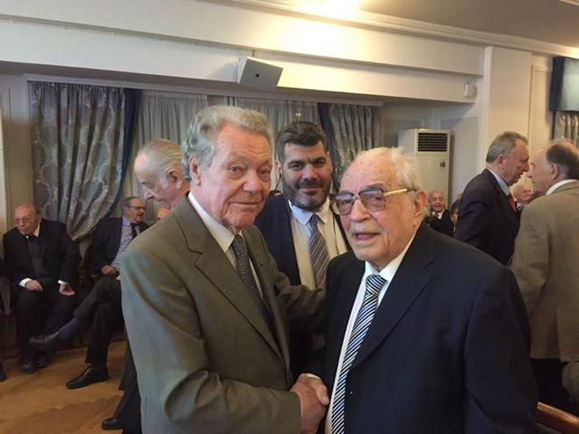 Κ. Σωτηρίου-Φ. Μακρυγιάννης: Τιμήθηκαν για τα 50 χρόνια ενεργούς δικηγορίας τους