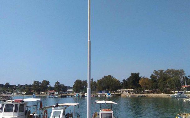 Εργασίες συντήρησης ηλεκτροφωτισμού στο λιμάνι Ν. Περάμου