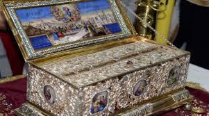 Υποδοχή της Αγίας Ζώνης στον Καθεδρικό Ναό Απ. Παύλου Κορίνθου