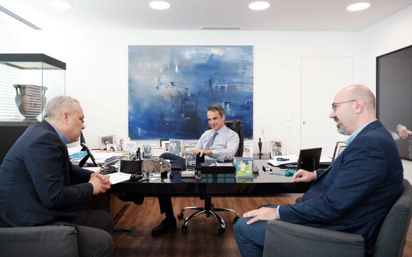 Αποκλειστική συνέντευξη Κ. Μητσοτάκη στον Περιφερειακό Τύπο