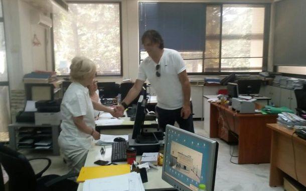 Βασίλης Χατζόπουλος: Συζητήσεις και επισκέψεις σε δημόσιες υπηρεσίες