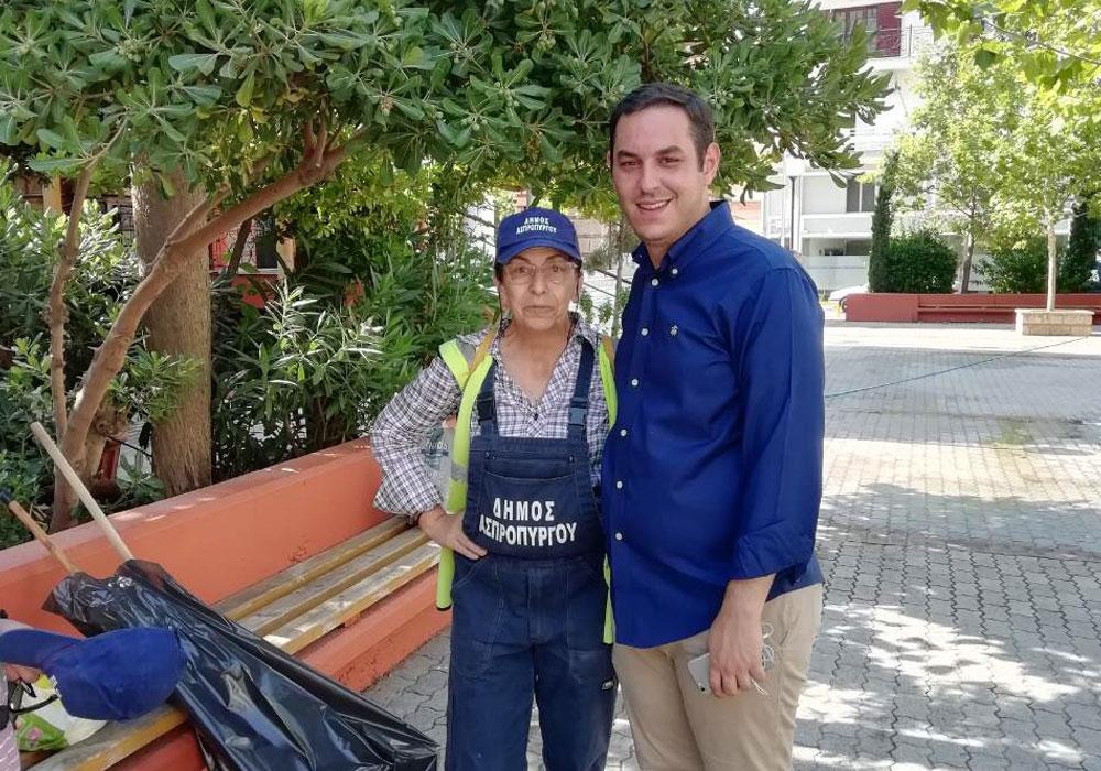 Ε. Λιάκος: Μέσα στην τοπική κοινωνία και μετά τις εκλογές
