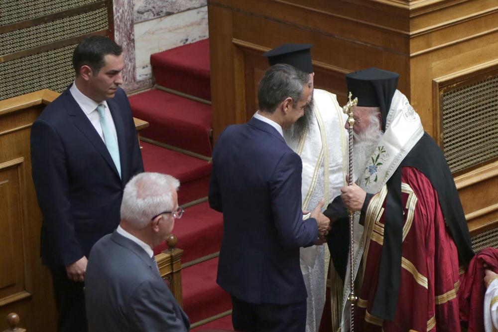 Γραμματέας της Βουλής εκλέχθηκε ο Ευάγγελος Λιάκος