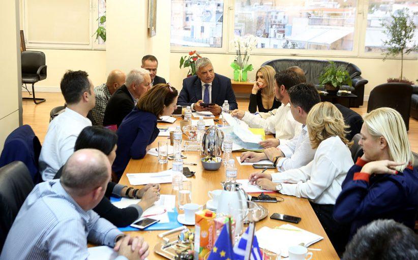 Σύσκεψη για τα ρέματα στην Περιφέρεια Αττικής