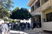 Κατάληψη στο Δημαρχείο Μεγάρων κατά της αξιολόγησης