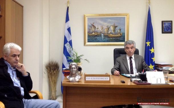 45 εκατ. ευρώ έργα & μελέτες από την Περιφέρεια Αττικής για το Δήμο Μεγαρέων