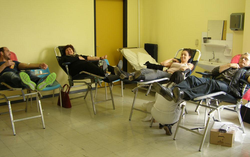 Ρεκόρ συμμετοχής στην 11η εθελοντική αιμοδοσία του «Κούρου»