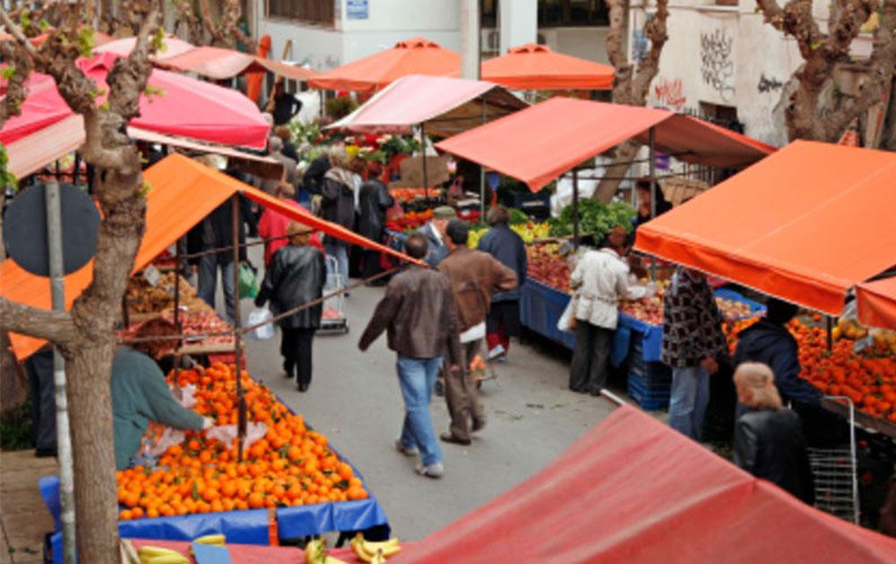 Αλλάζει η λαϊκή αγορά στα Μέγαρα