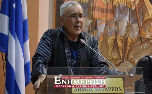 Κ. Ζουράρις: Ομιλία στο Δημαρχείο με απαγγελία Δημοτικών Τραγουδιών