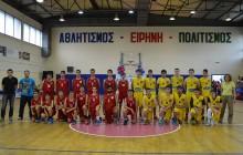 Φιλανθρωπικός αγώνας μπάσκετ Γυμναστικού Συλλόγου Μεγάρων-Ένωσης Ν. Περάμου