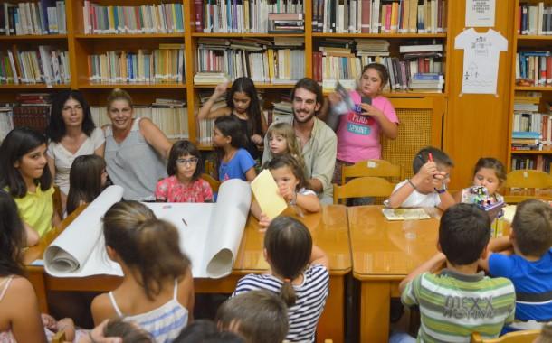 Στο τέλος του ταξιδιού της Καλοκαιρινής Εκστρατείας της Δημοτικής Βιβλιοθήκης