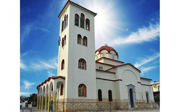 Αγρυπνία στον Ιερό Ναό Αγίου Γεωργίου Νέας Περάμου