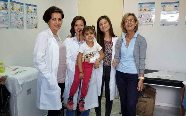 Εμβολιασμοί σε παιδιά Ρομά σε Βλυχό και Νέα Ζωή