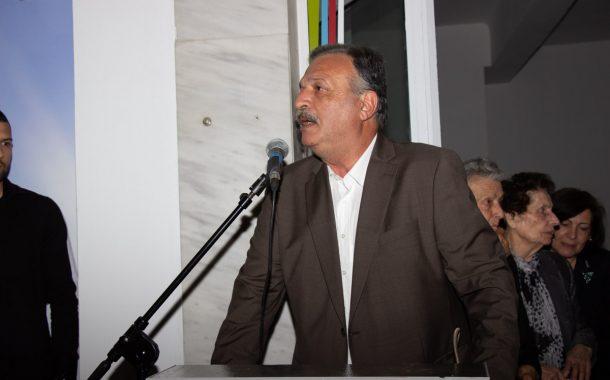 Εγκαίνια στο εκλογικό κέντρο Γ. Μπερδελή στην Νέα Πέραμο