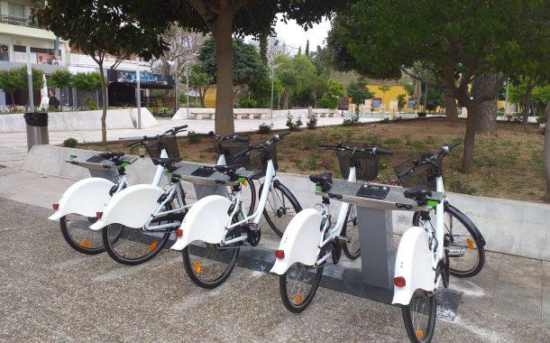 Πιλοτικό σύστημα κοινόχρηστων ποδηλάτων